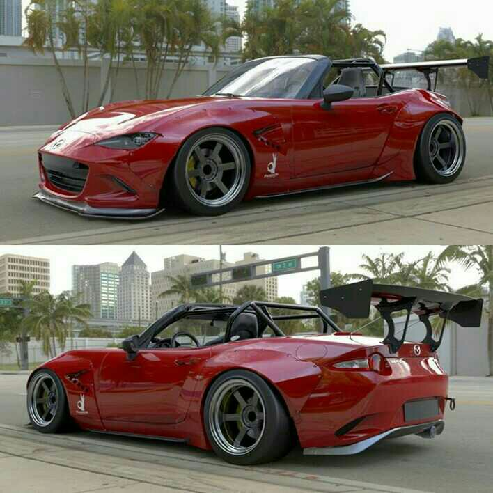 New Rocket Bunny Pandem Kit for the ND Mazda Roadster