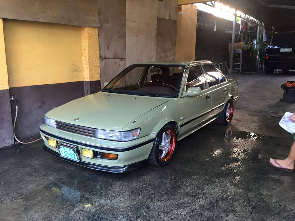 toyota corolla ae92 with sprinter front end toyota corolla ae92 with sprinter front end