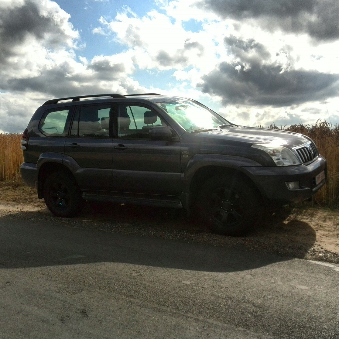 I Want To Build A Roof Rack For This Toyota Land Cruiser 120 Any Ideas For The Design