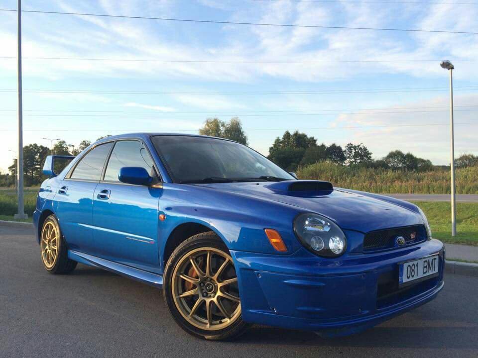 Toyota Wrx >> 2003 Subaru Impreza WRX STi