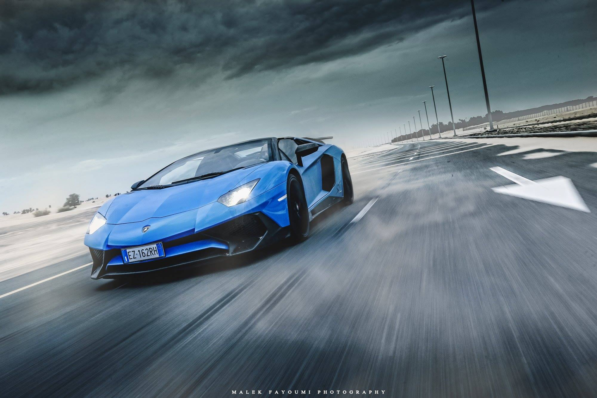 Here Is Another Amazing Picture Of The Lamborghini Aventador Sv