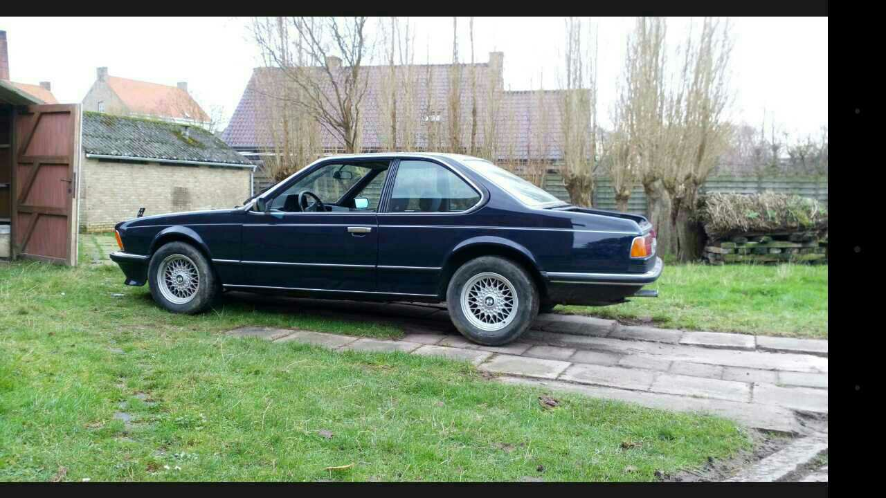 Trying To Get A 635csi Back On The Road It Had Been Sitting In A Shed For 13years My First Car Any E24 Love Out Here