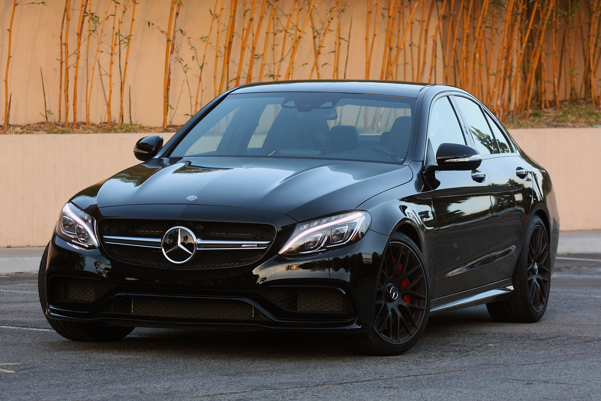 Mercedes amg c63 s sedan dream spec black on black for Mercedes benz c63 amg black edition