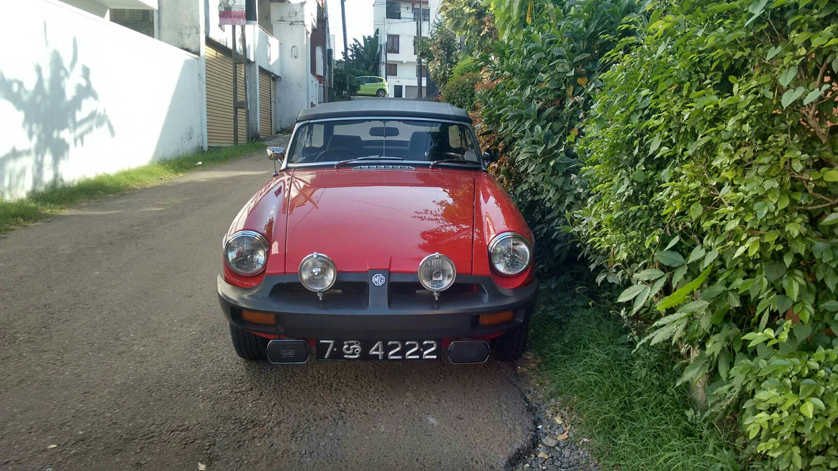 Guess Who Spotted This Mg In Sri Lanka