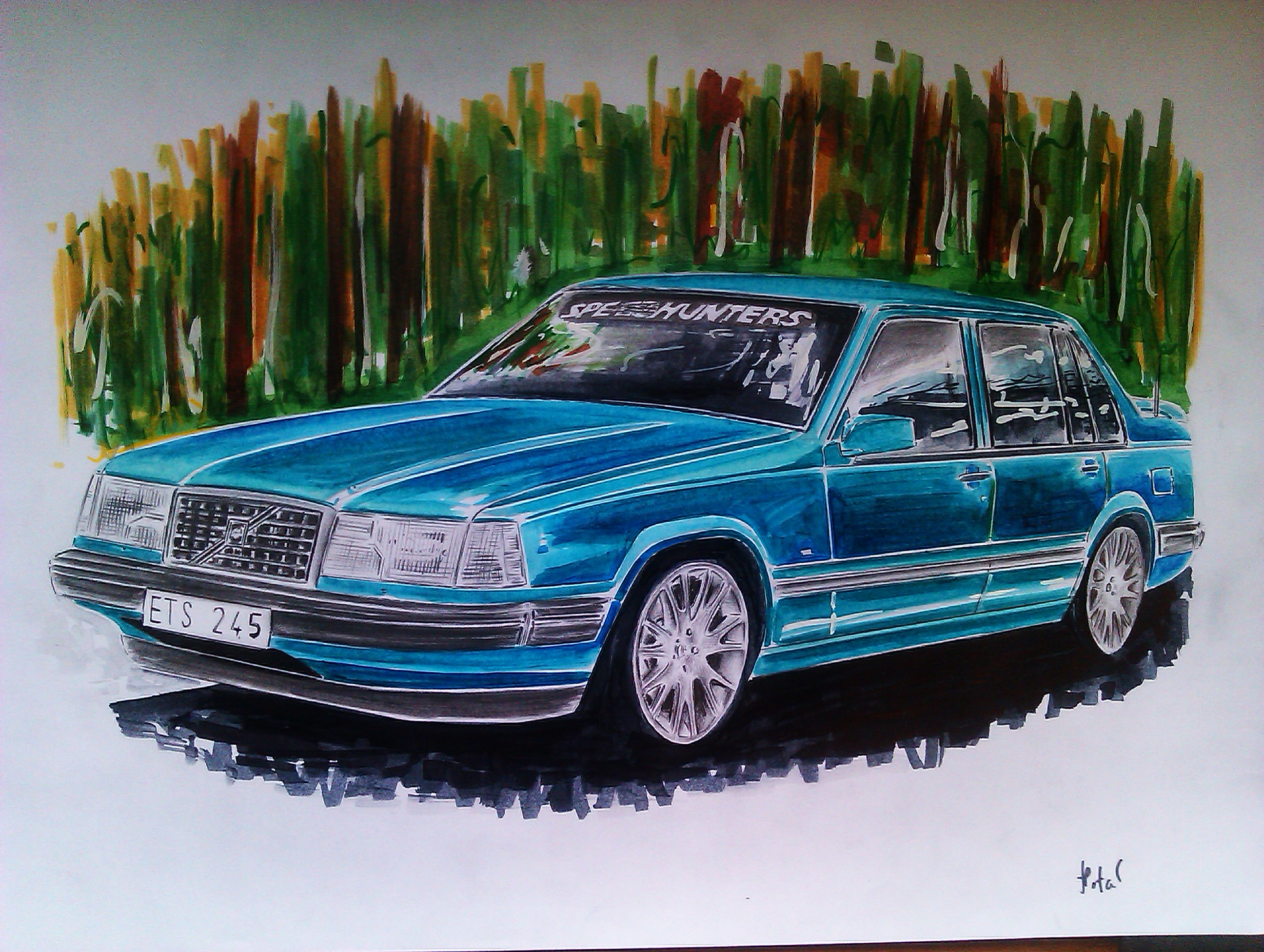 Ct User Aked Me To Draw His Volvo