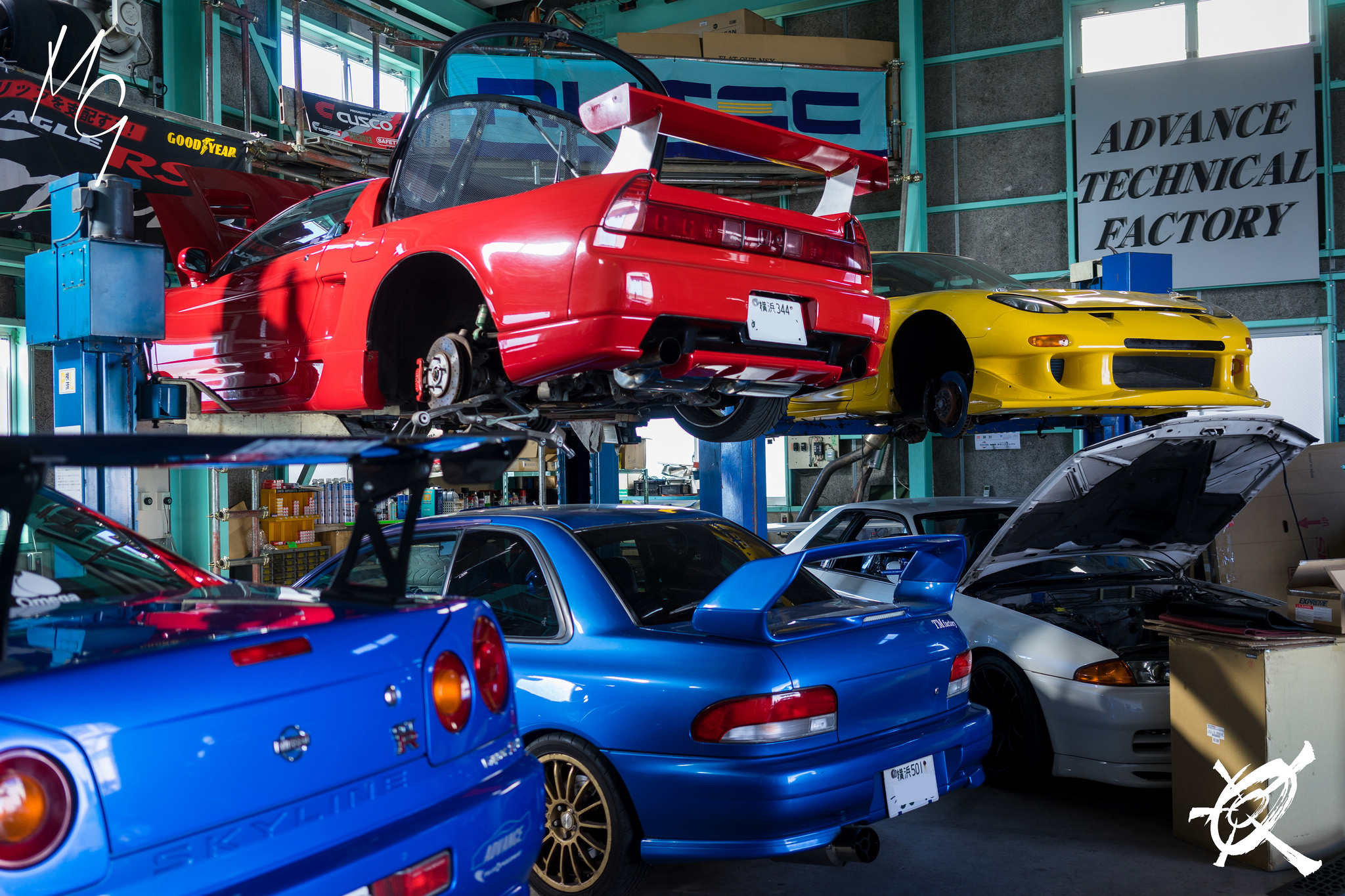 The 10 Car Garage of a (almost) 16 years old car guy