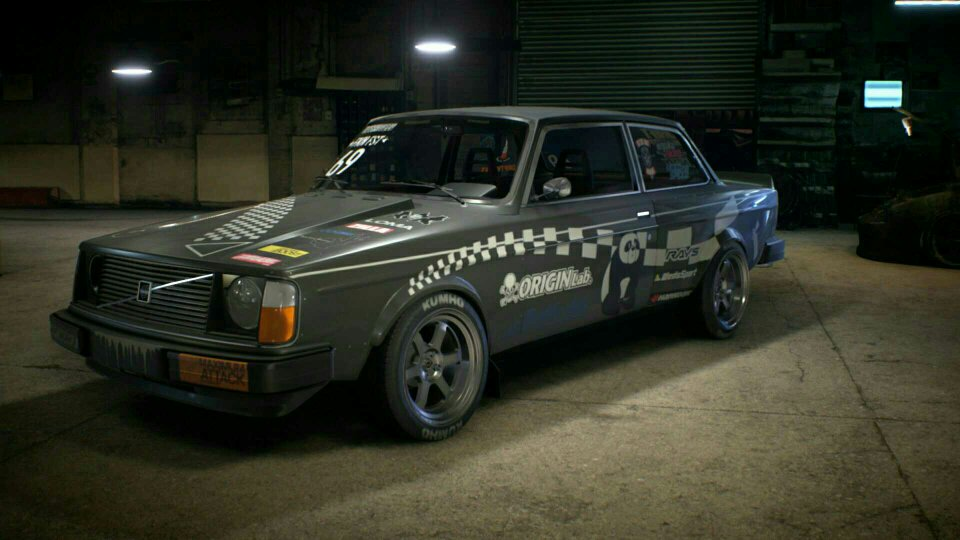 Volvo Drift Build
