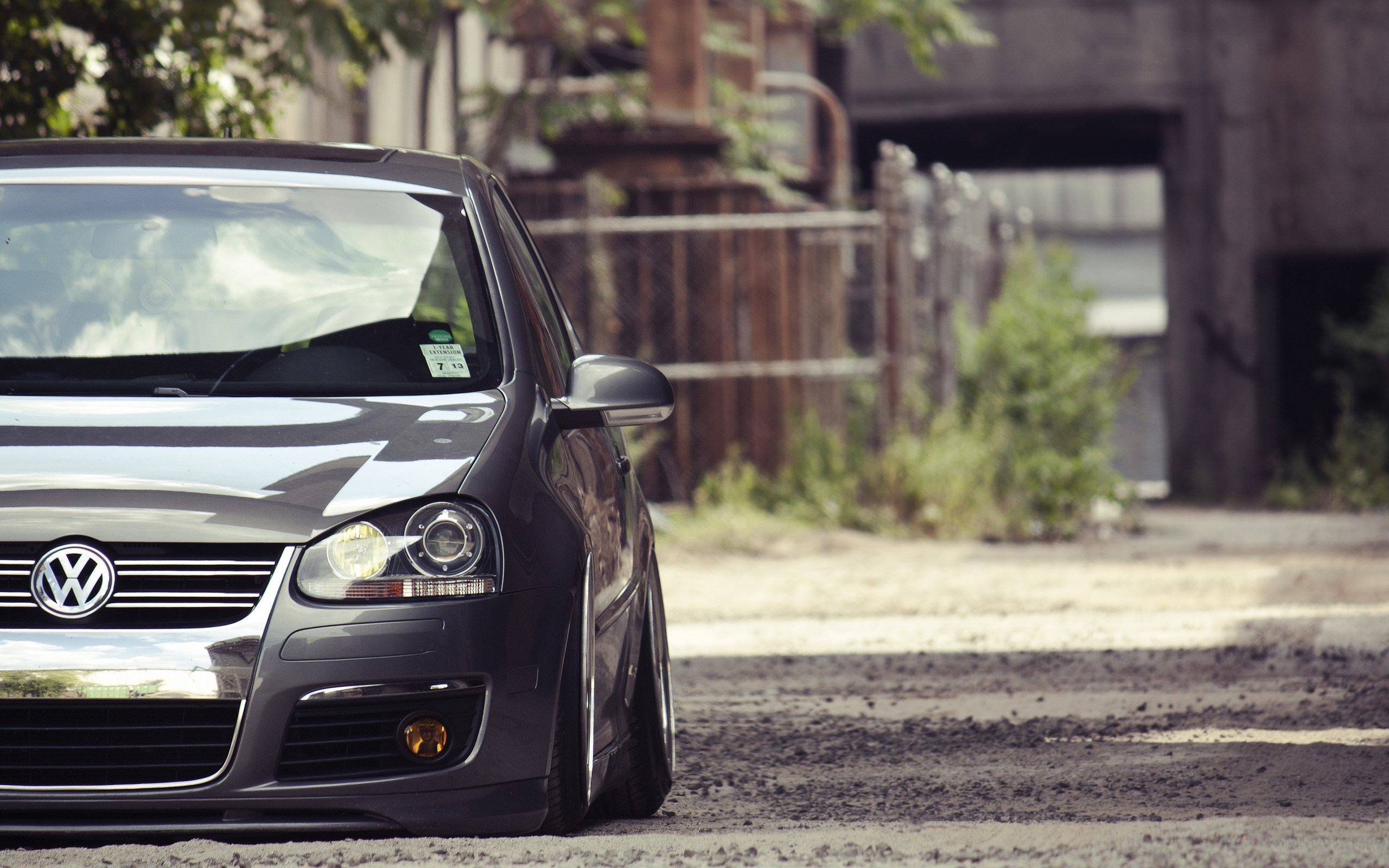 VW Golf New Wallpaper
