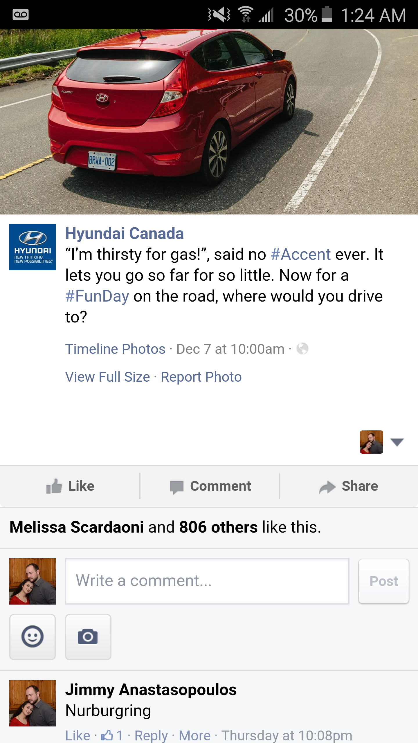 To further my trolling of the car manufacturers in fb heres something cool hyundai knows whats up