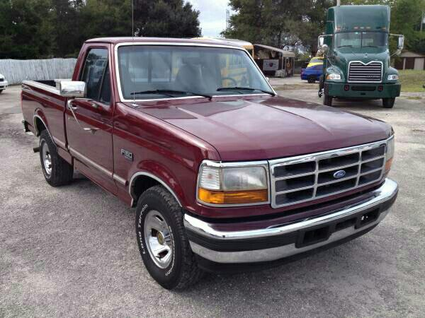 1996 ford F150 XLT, 5 speed manual, 4.9L in-line 6. for ...