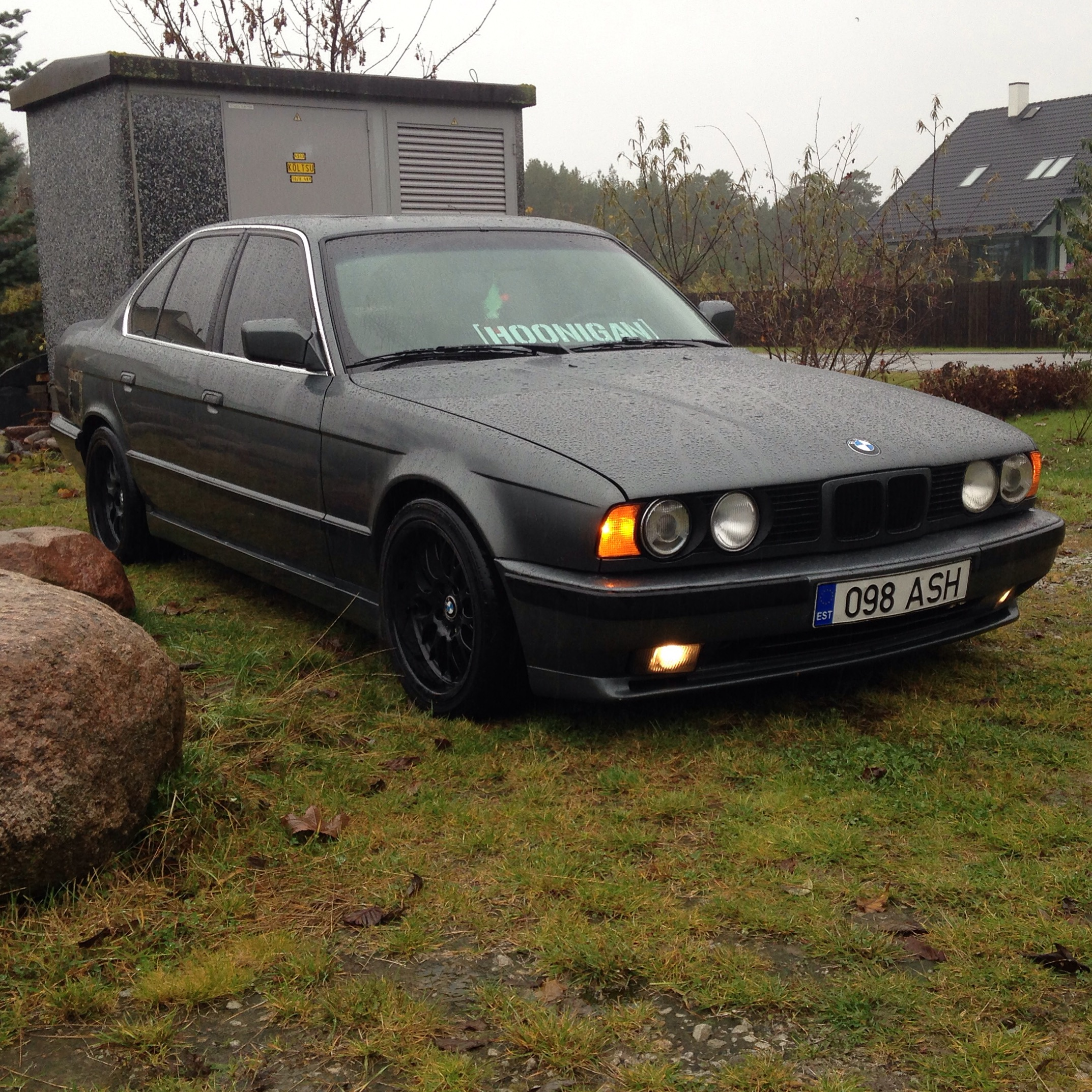 1989 bmw 525i for Garage skoda 92