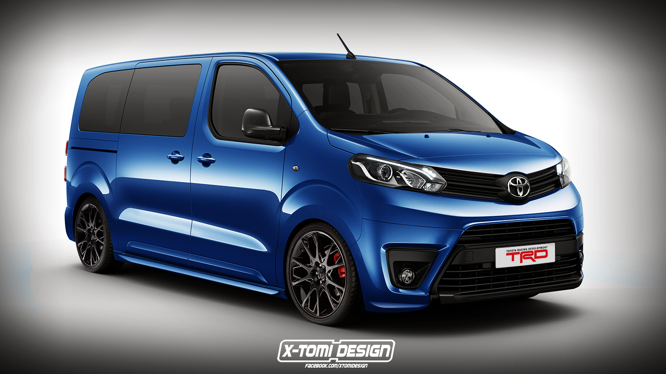 toyota proace trd. Black Bedroom Furniture Sets. Home Design Ideas