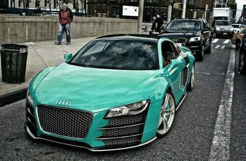 Audi r8 custom tiffany blue what a colour audi audi r8 custom tiffany blue what a colour audi owners publicscrutiny Images