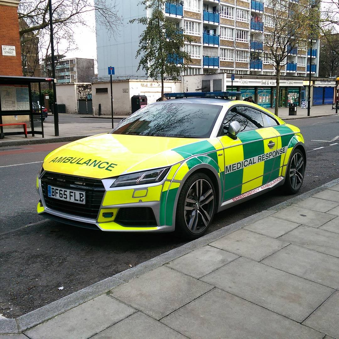 Spotted This New Audi Tt Fast Response Ambulance In London