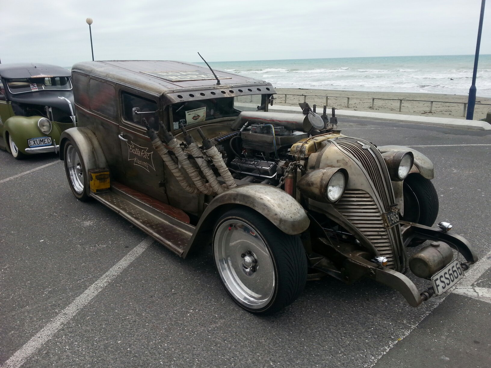 Custom Rat rod in Christchurch NZ