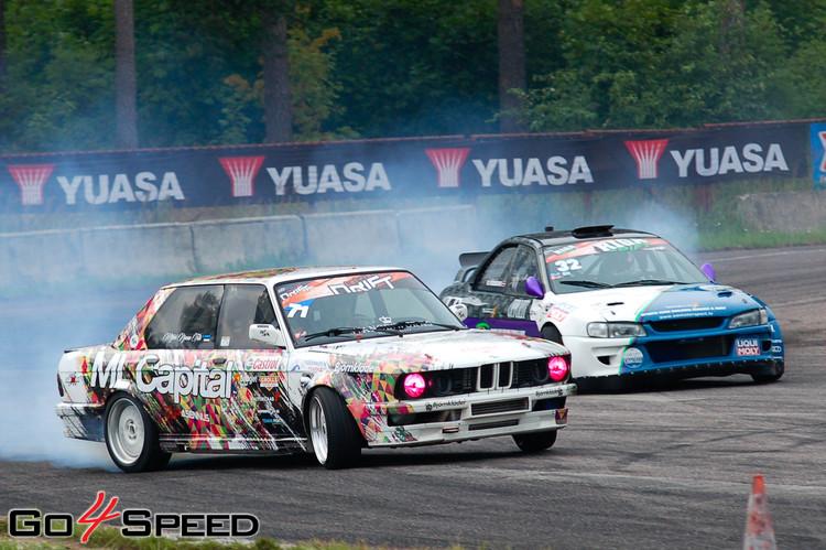 Two Unusual Drift Cars