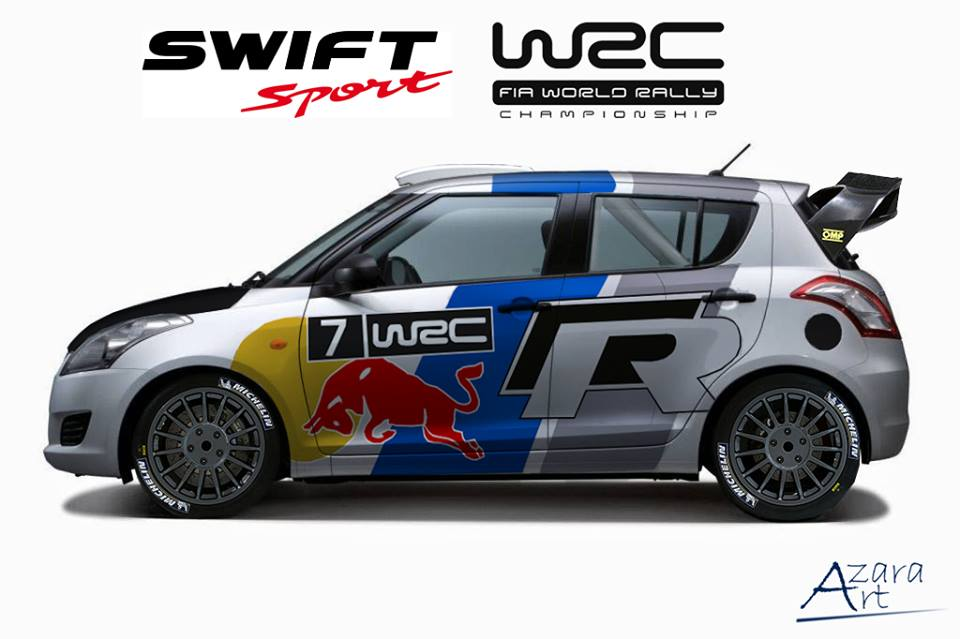 Maybe This Was My Dream Suzuki Swift Gt3 With Polo Wrc
