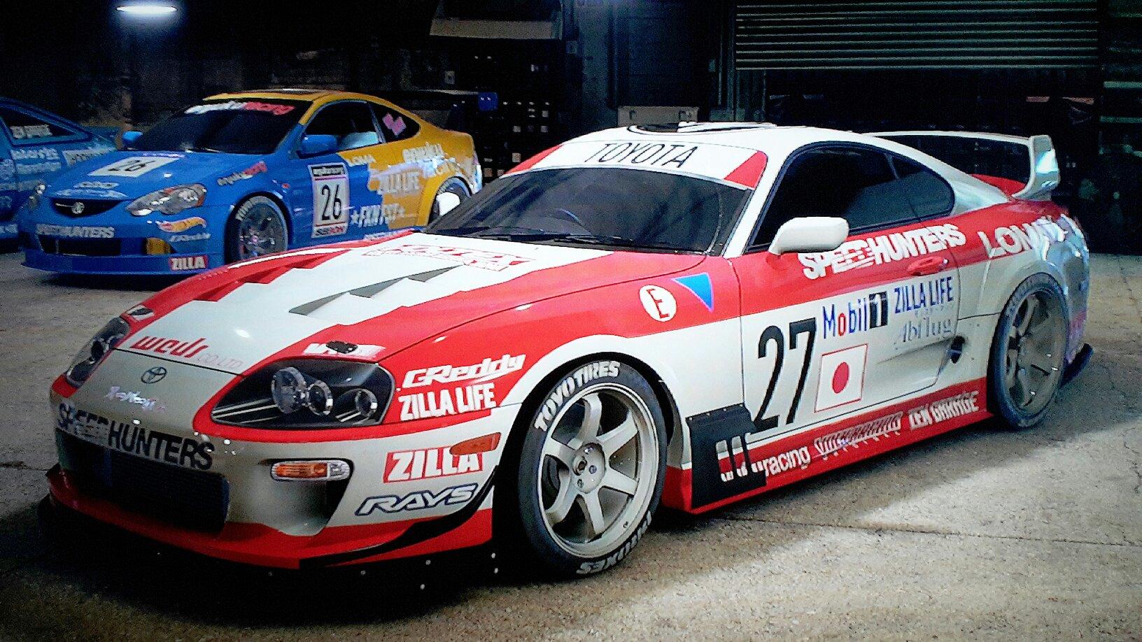 Toyota Race Cars >> Toyota Supra Race Car Nfs 2k15