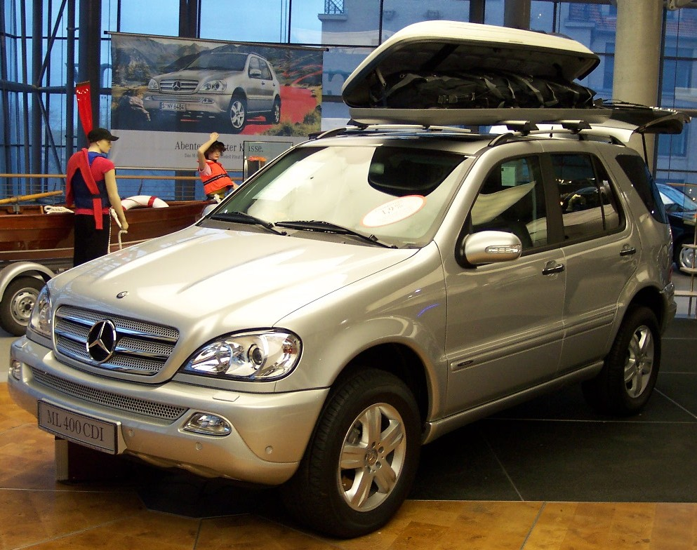 A real world suv review 2002 2005 mercedes m class for 2005 mercedes benz ml350 review