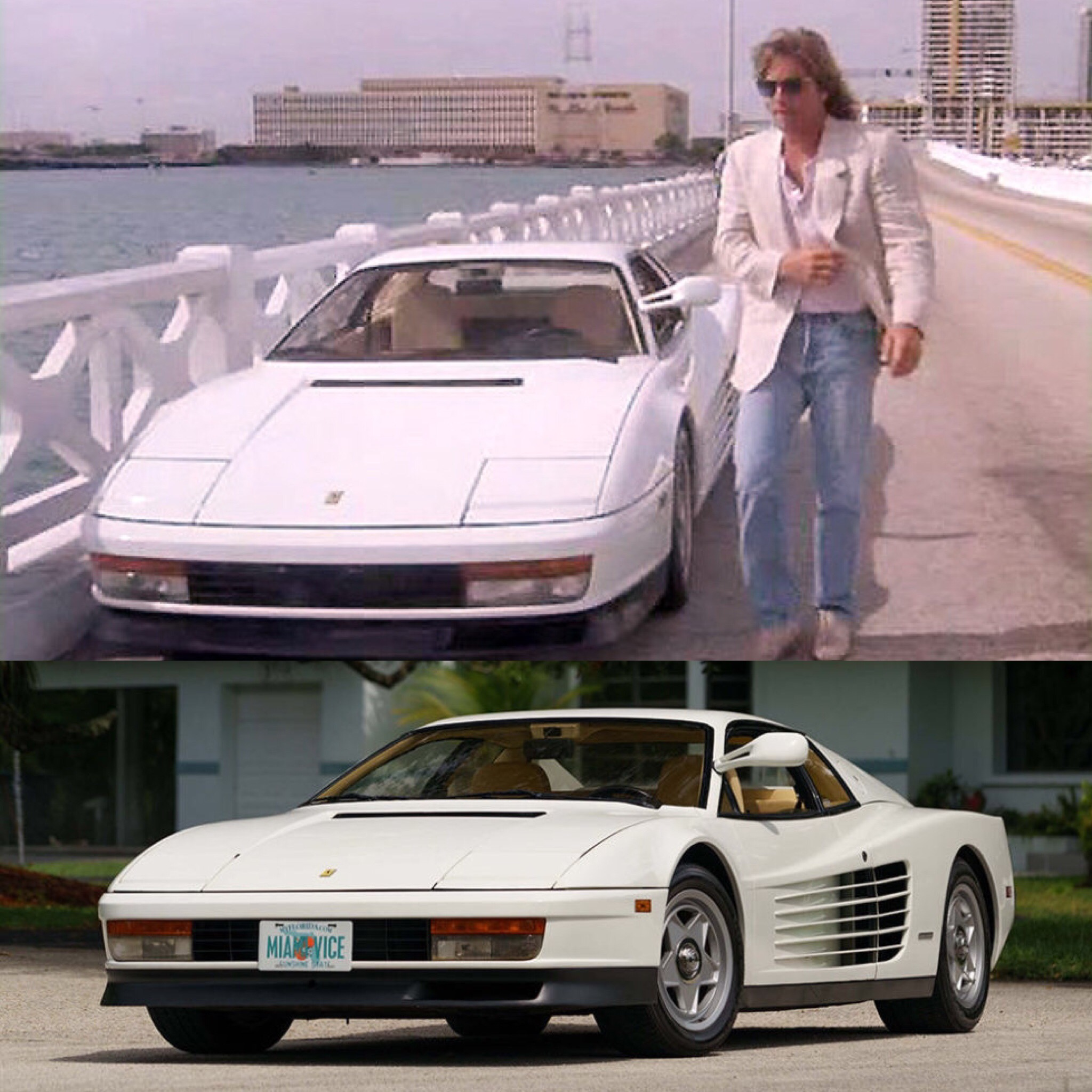Miami Used Chevrolet >> Miami Vice, Don Johnson, and my favourite car, the Ferrari Testarossa. Miami Vice is my ...
