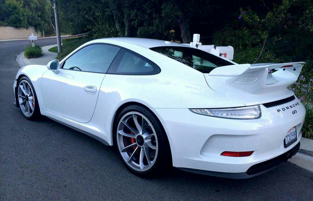 Porsche 911 Gt3 With Clear Tail Lights