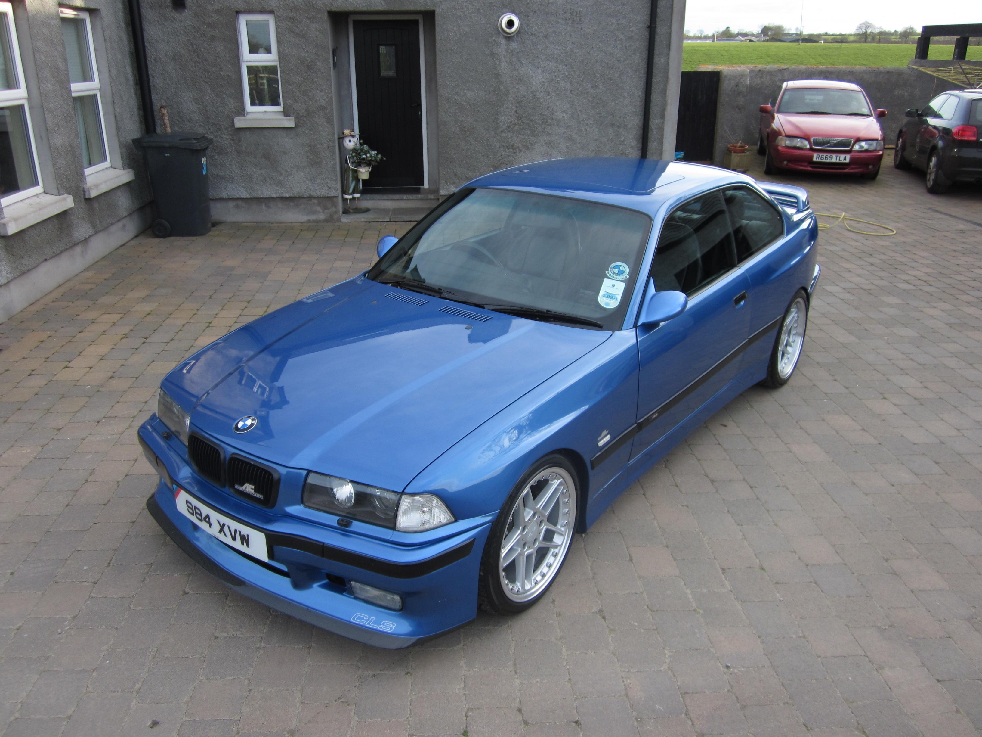 BMW E M AC Schnitzer CLS Widebody - E36 ac schnitzer spoiler