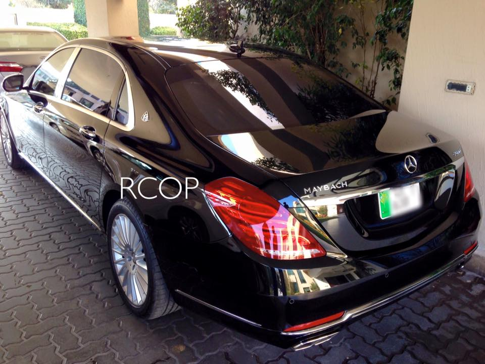 Location Pakistan Lo And Behold A Mercedes Maybach Has Been
