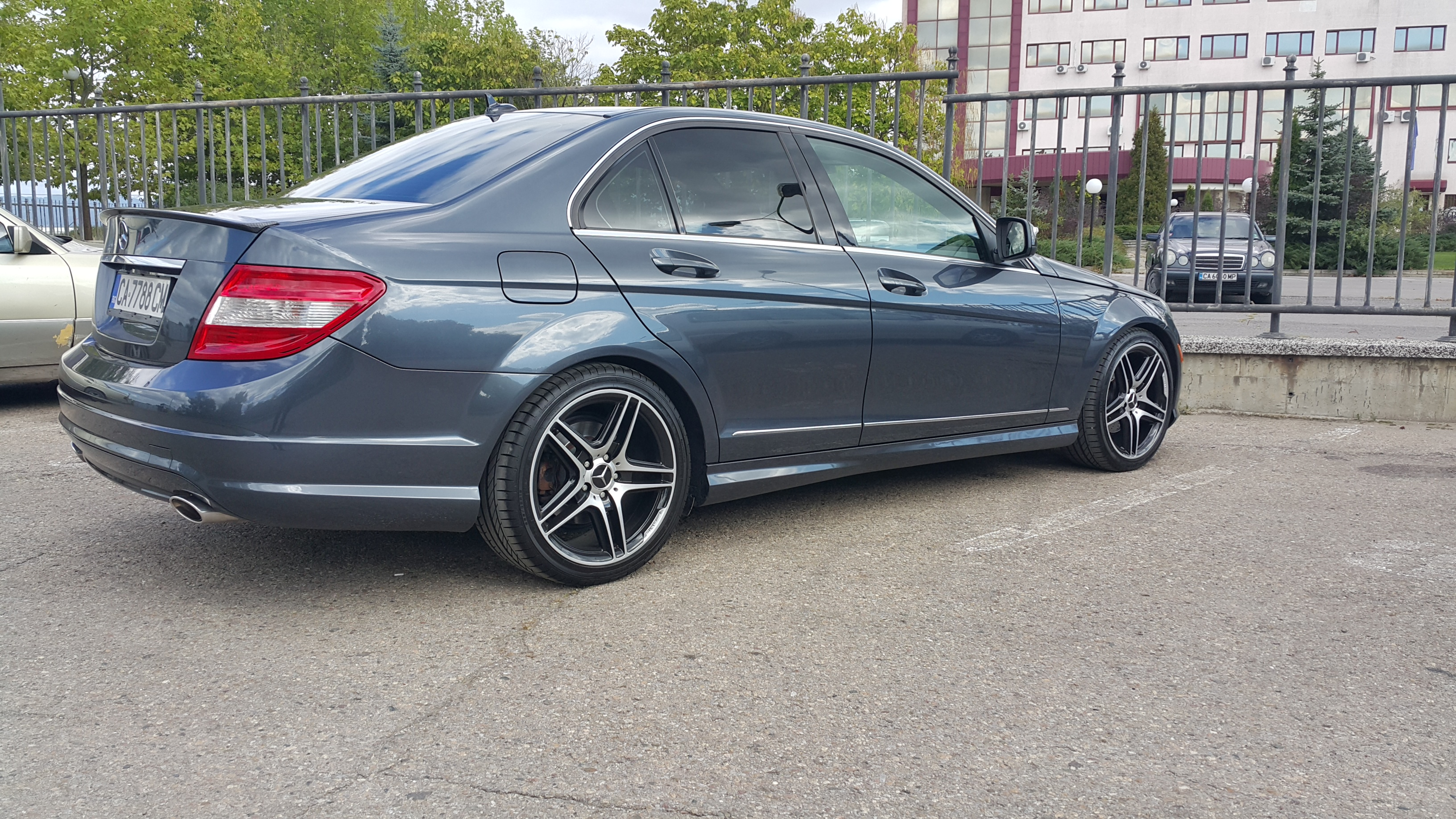 2008 mercedes benz c300 sport amg package for Mercedes benz packages