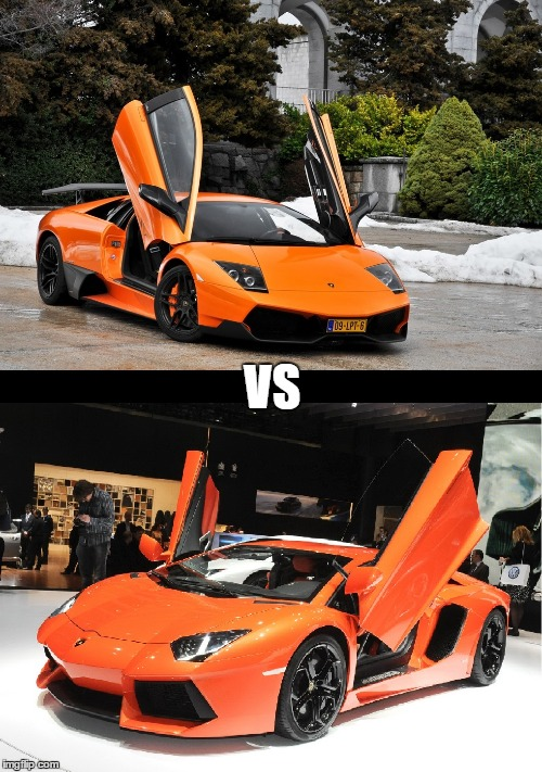 Lamborghini Murcielago Vs Lamborghini Aventador Wich One Do You Prefer