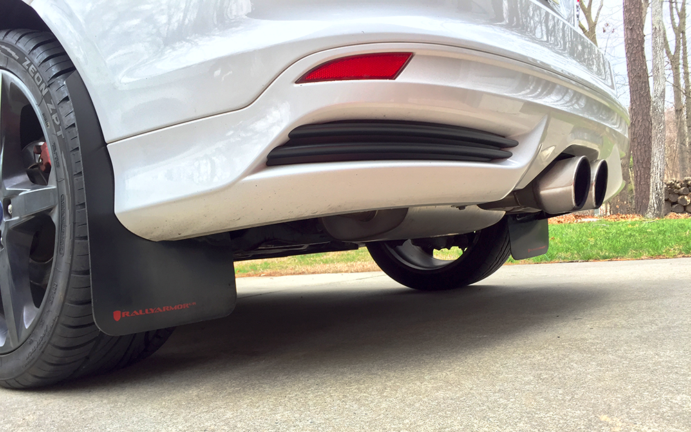 Focus St Mud Flaps >> My Rally Armor Mud Flaps Have Been Delivered For The Focus