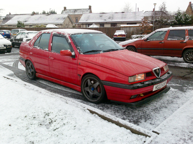 Volvo Q4 >> Is there any love for Alfa 155 Q4 that shares same engine and drivetrain with Lancia Delta ...