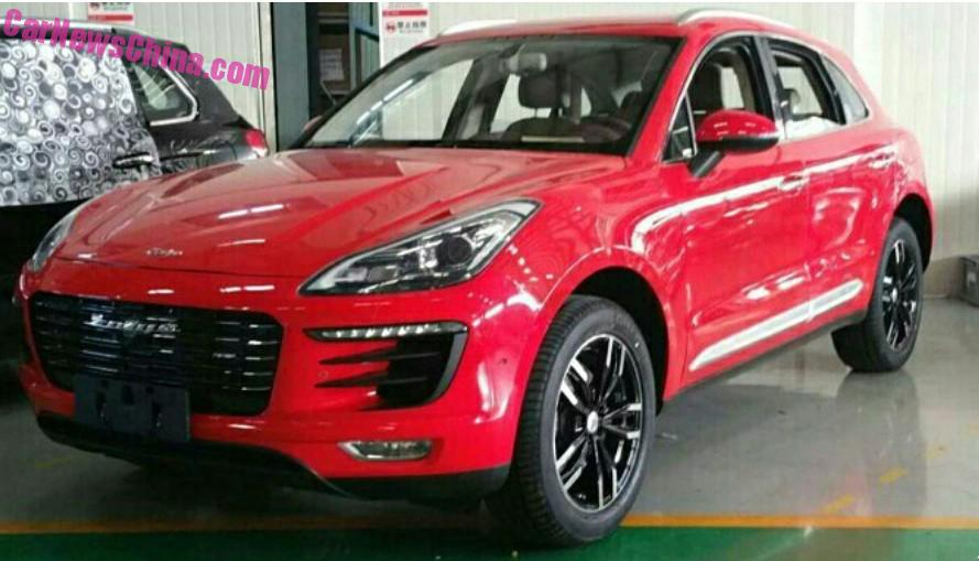 looks like the chinese have made a fake porsche macan. Black Bedroom Furniture Sets. Home Design Ideas
