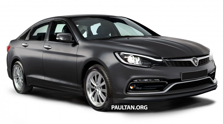 new car launches malaysiaThe rendered of the new Proton Perdana by a local Malaysian that