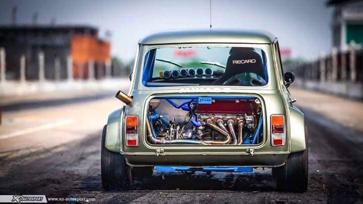 Honda Vtec Swapped Transverse Mounted Rear Engine Rear