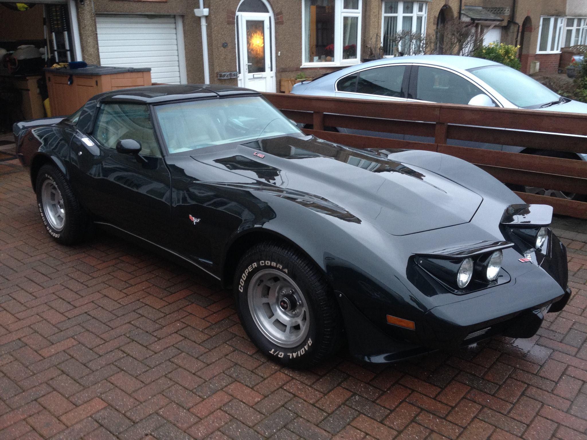 1979 pace car corvette