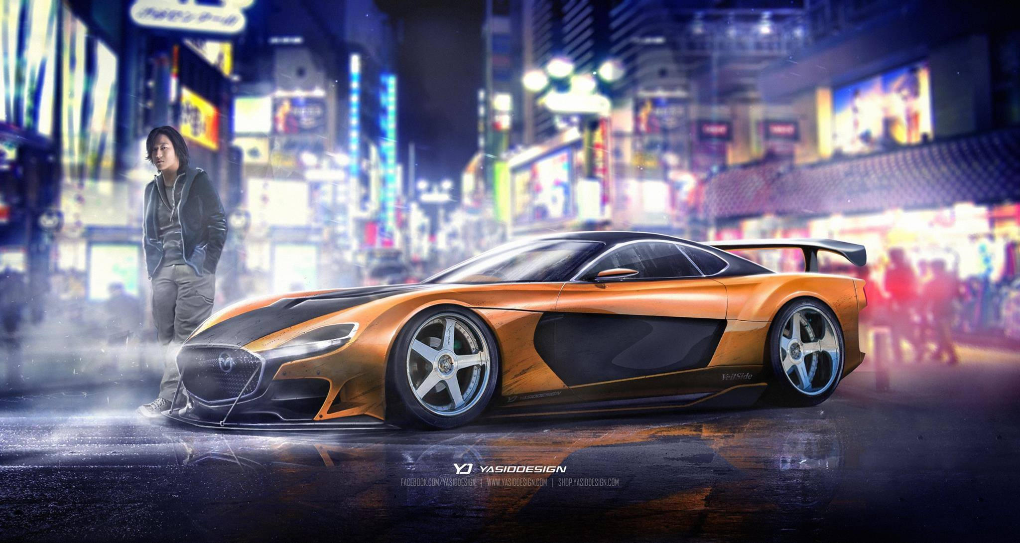 What do you think about Han's Mazda RX7 Veilside Fortune 2020?
