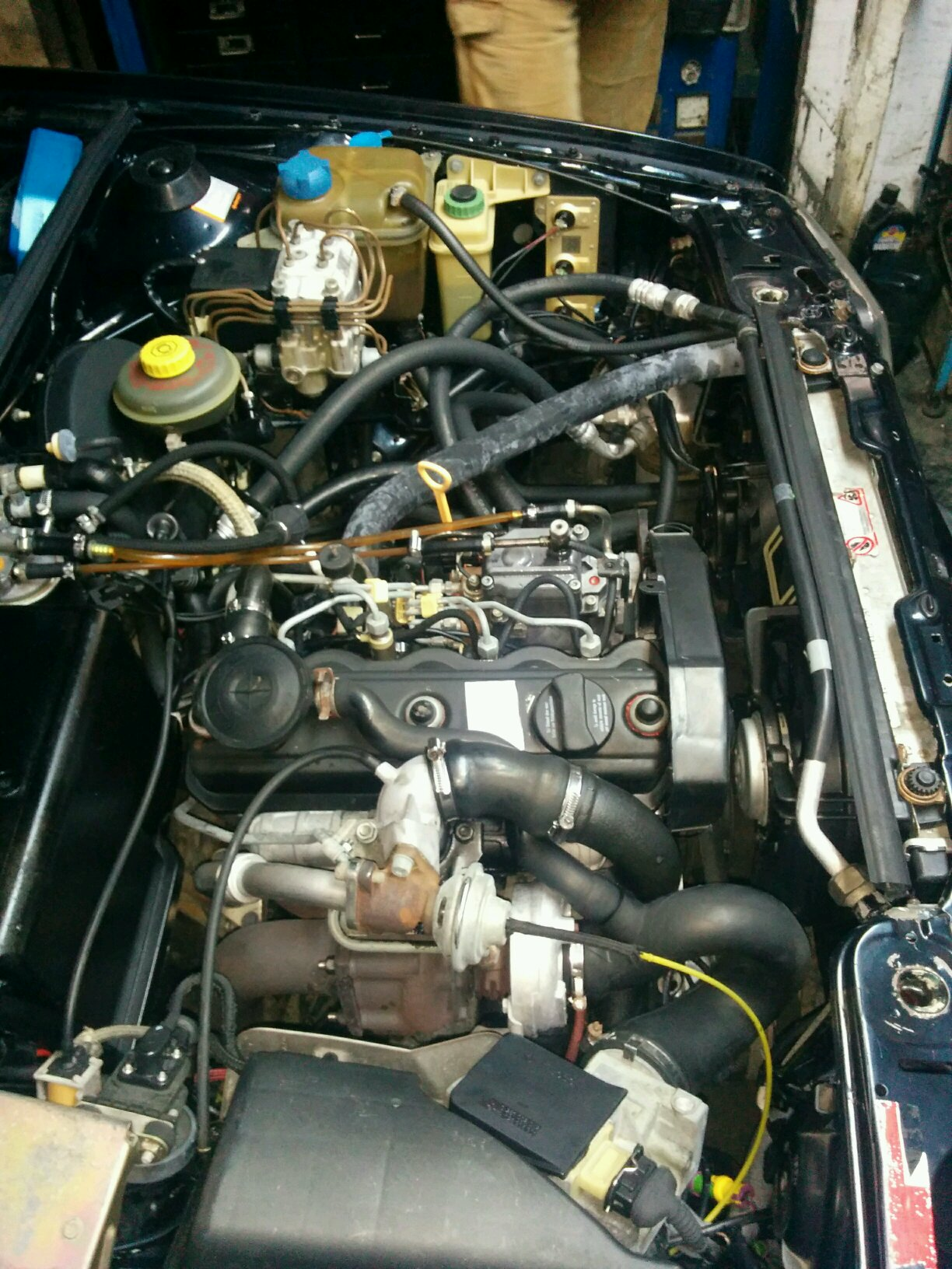 my work is done this is a rebuilt audi 80 1 9 tdi engine. Black Bedroom Furniture Sets. Home Design Ideas