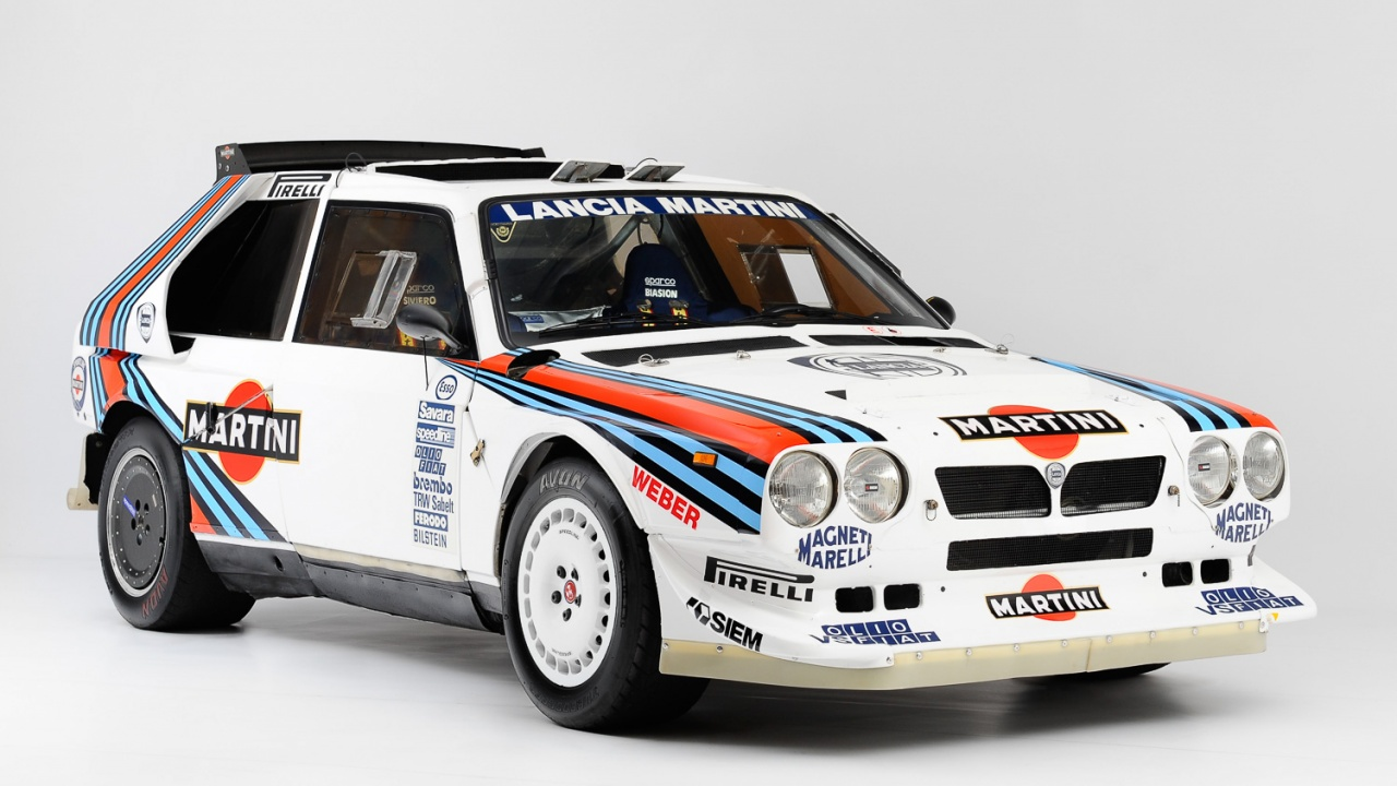 For Sale - Lancia Delta S4 Chassis 213 TO 73076E