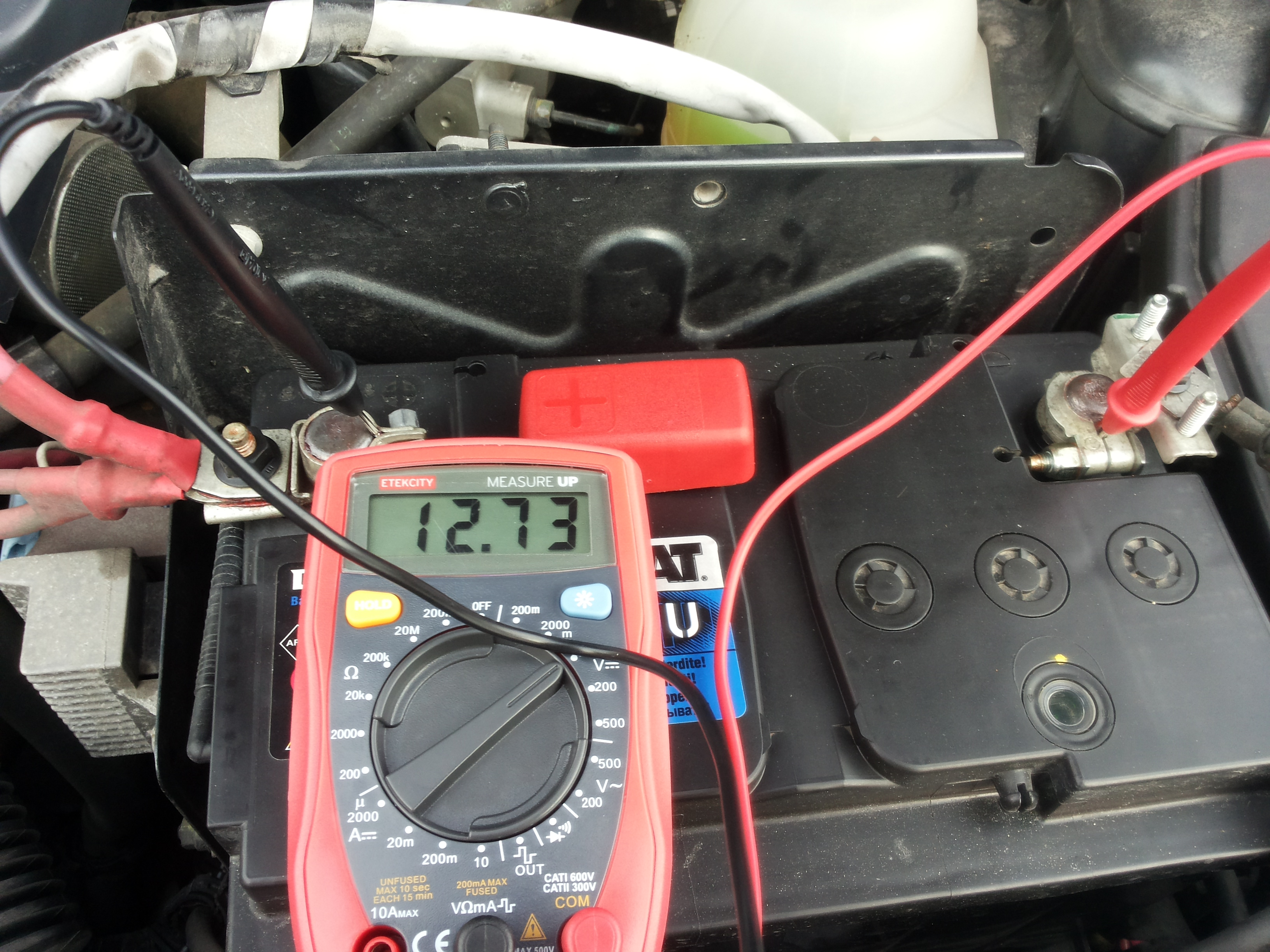 how to check your cars battery with a digital multimeter fcddiy 004 rh carthrottle com multimeter test car wiring Aftermarket Car Wiring Harness