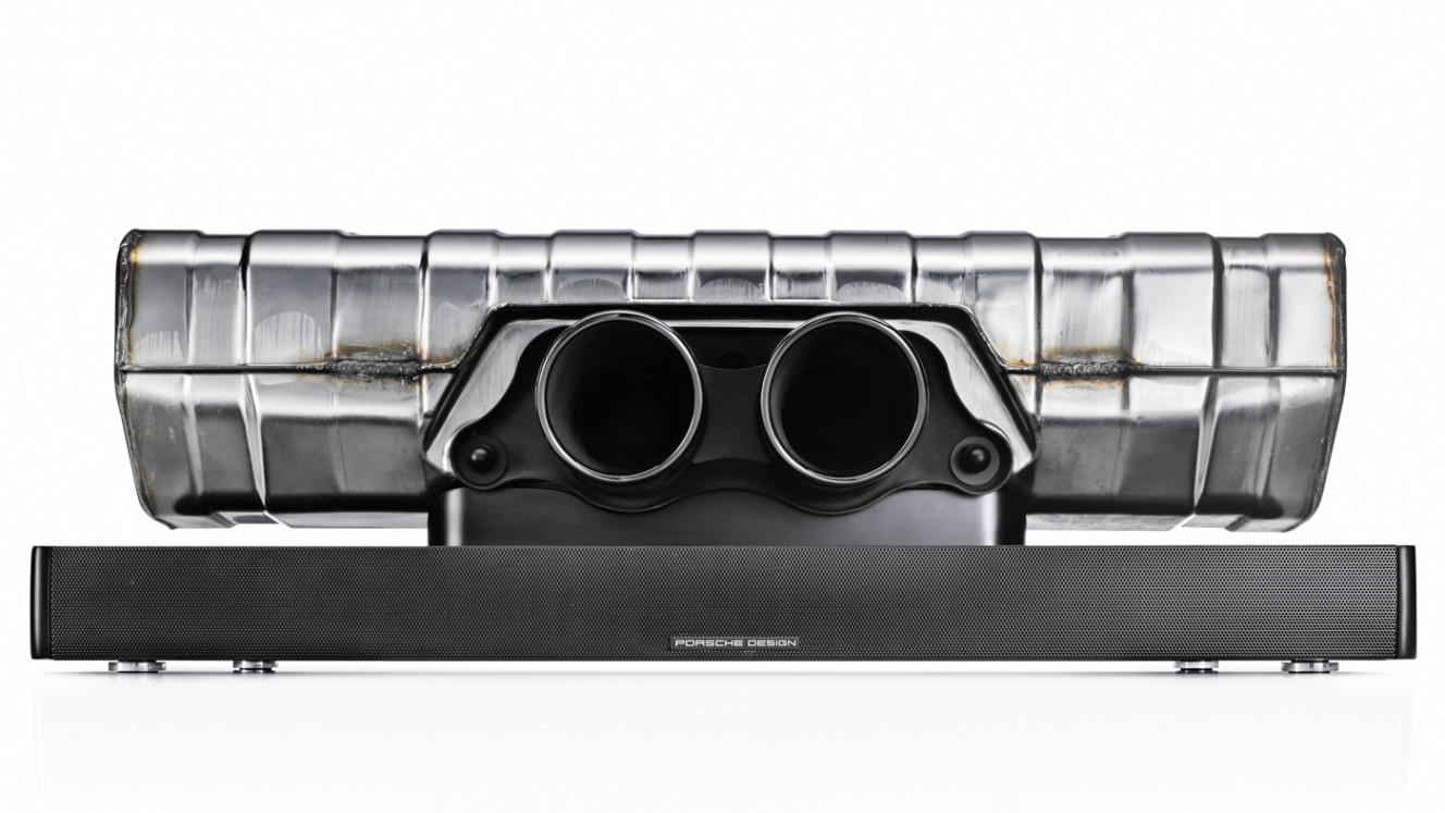 309dc928361 The amazing looking Porsche Design - 911 Soundbar
