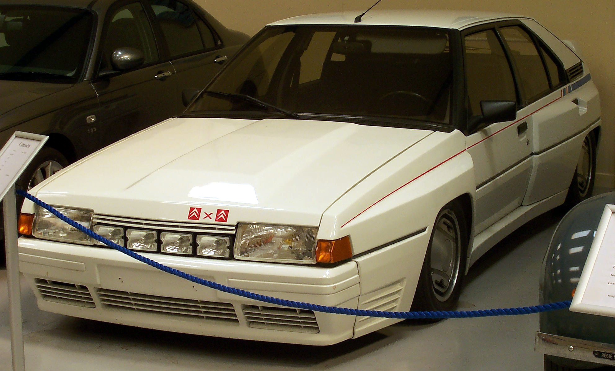 The Citroen BX 4TC was Citroen\'s attempt at making a group b rally car.