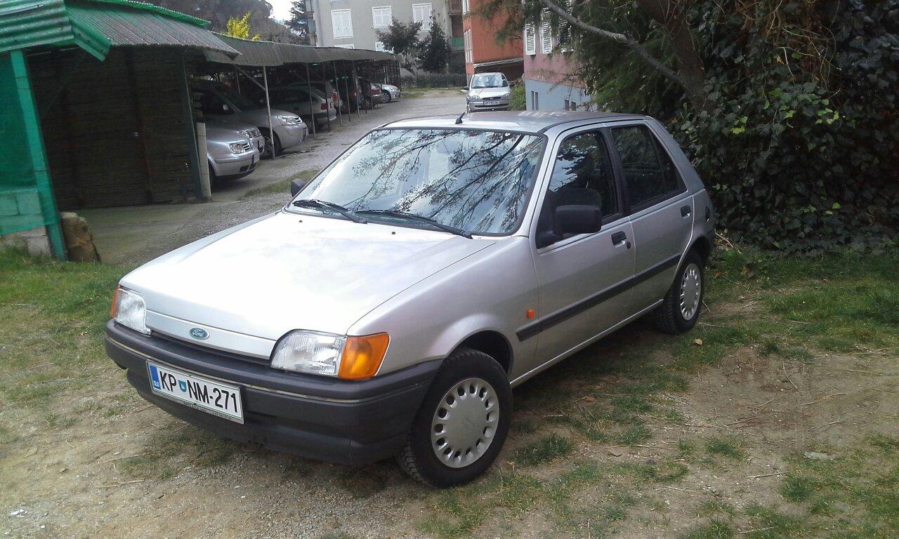 форд фиеста 1992