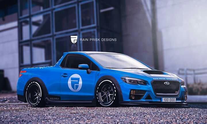 Would Be Nice Kind Of New Subaru Baja Sti
