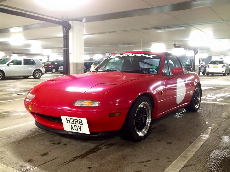 Build A Mazda >> Vincent Mk1 Mazda Mx5 Hillclimb Build