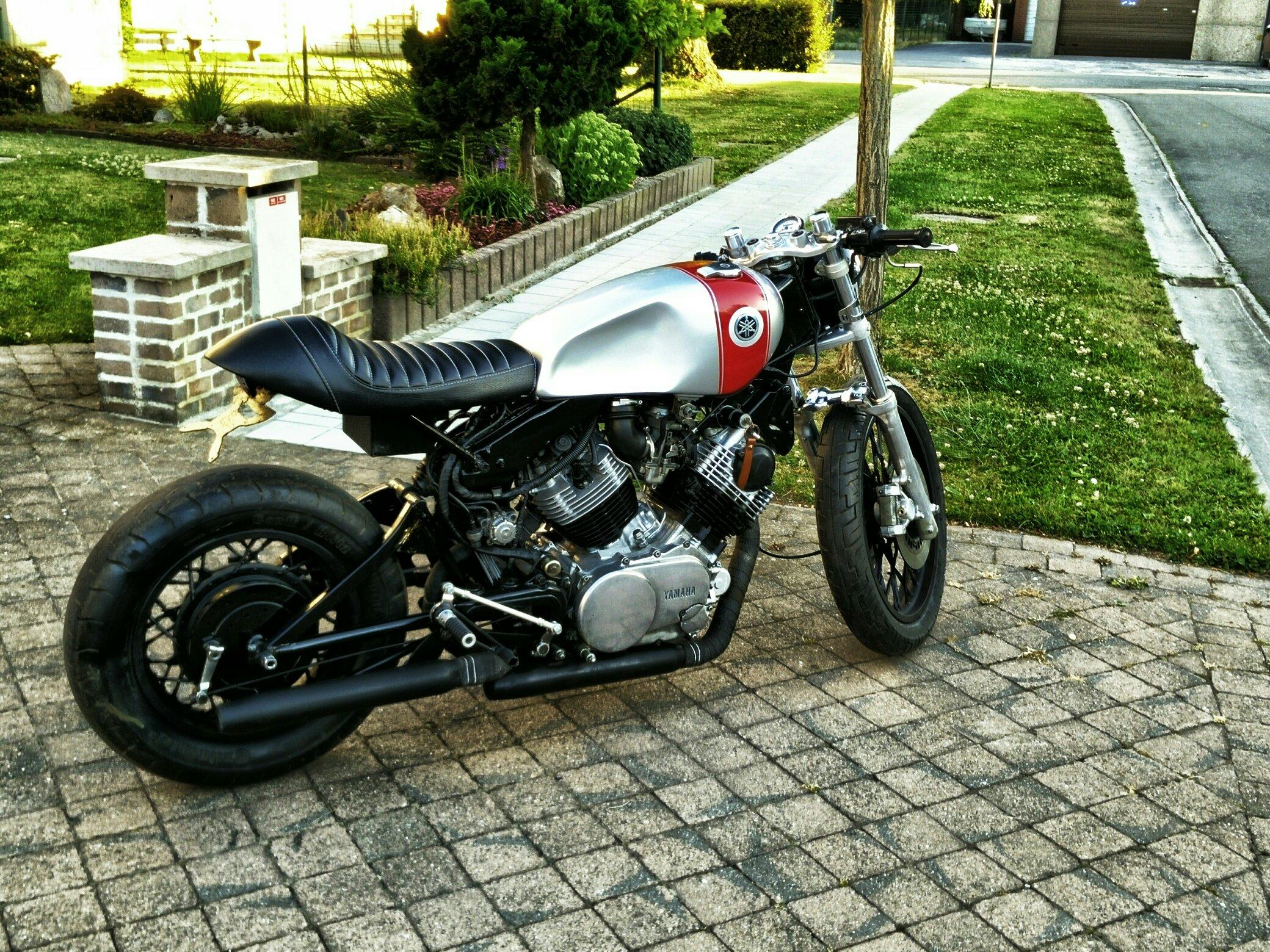 Cafe Racer Project 1981 Yamaha XV750 Virago