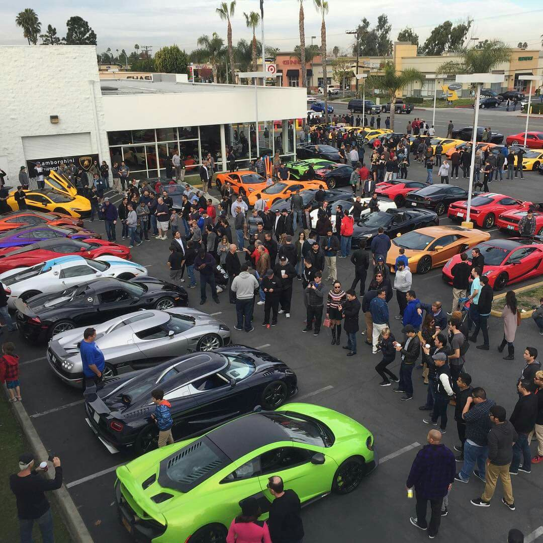 Lamborghini Newport Beach Super Car Show 3 P1 S 2 918 S 2