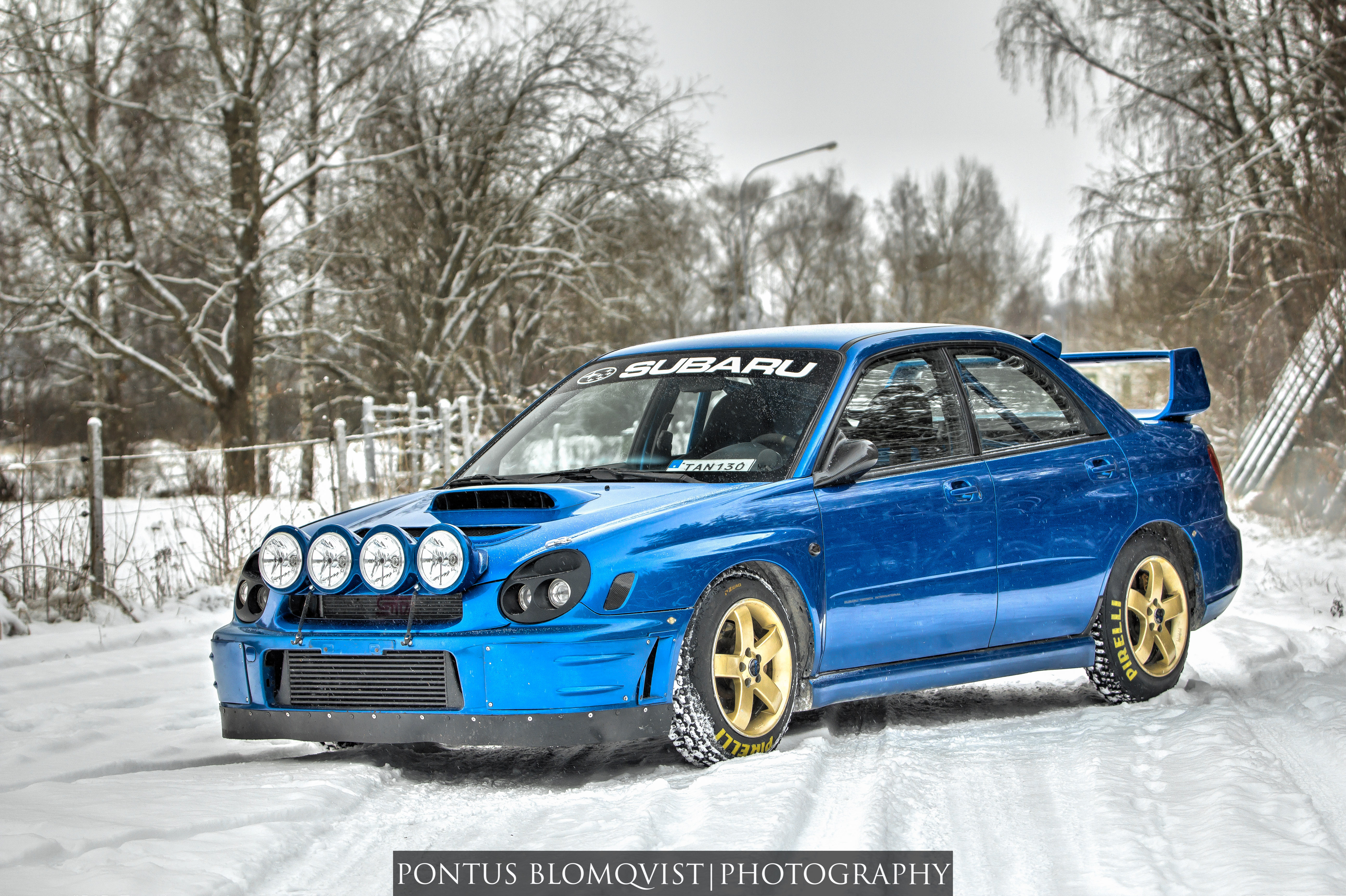 From Yesterdays Photo Session With A Nice Bugeye Sti