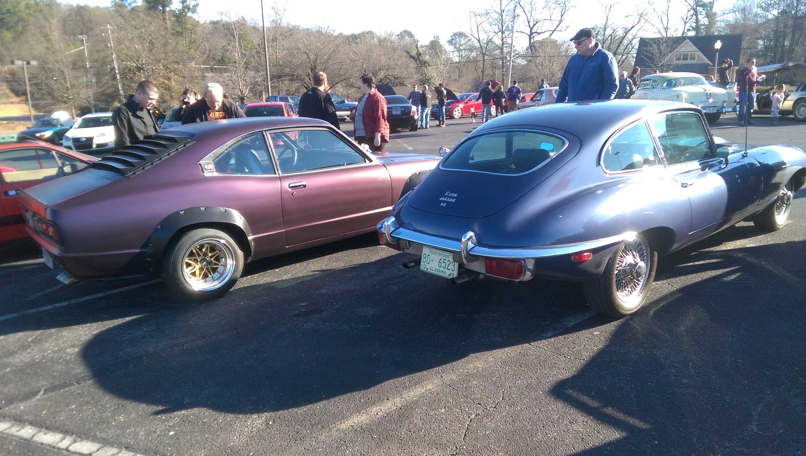 The Vehicles of Cars and Coffee in Alabama