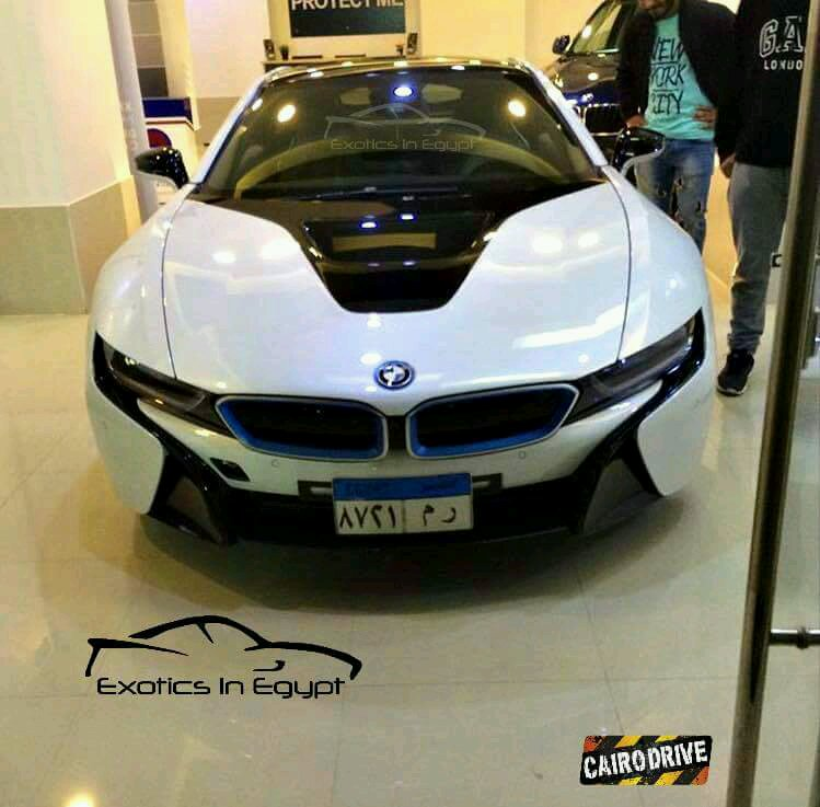 Bmw I8 In The Car Dealerships Of Cairo Egypt