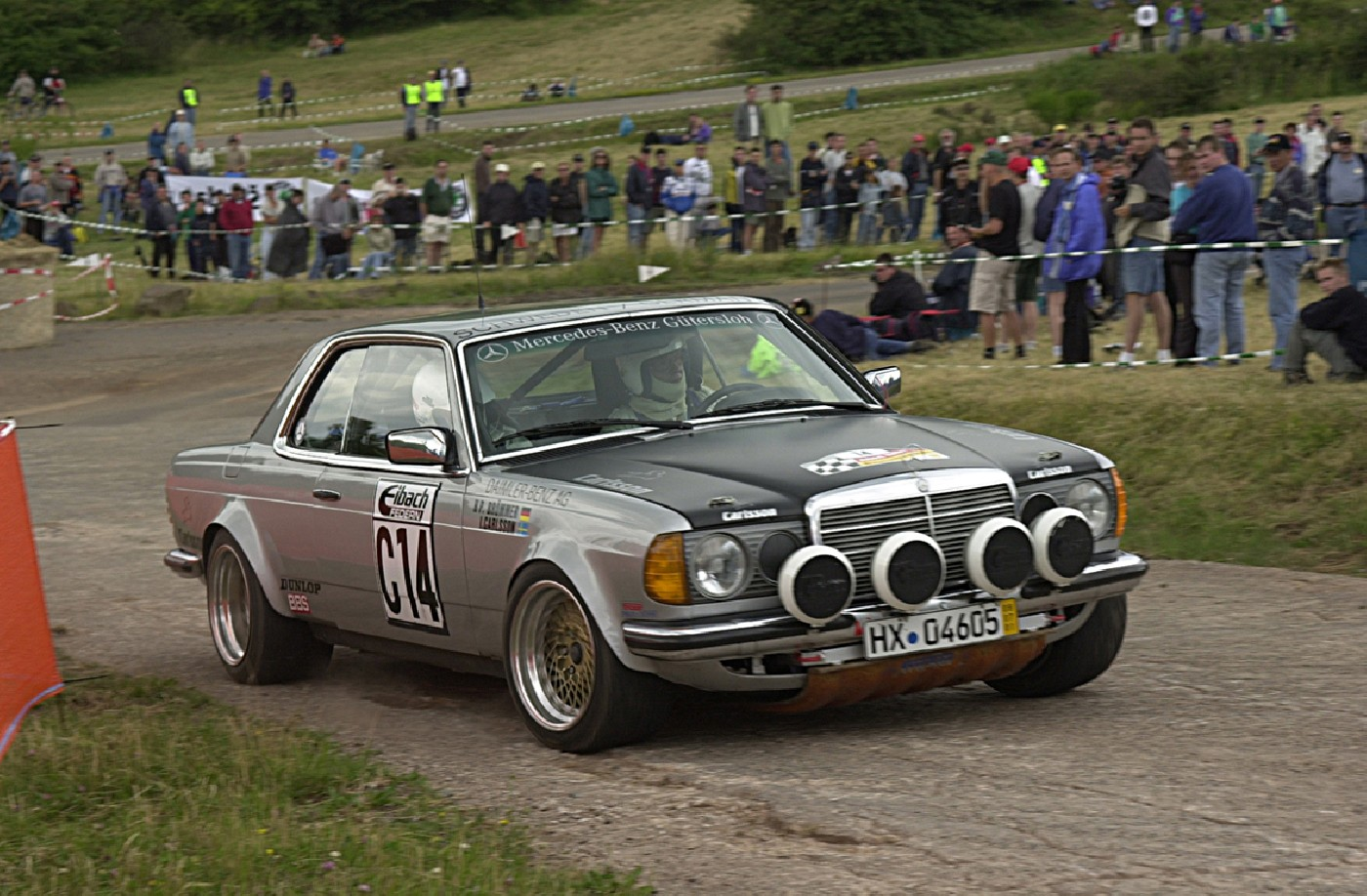 classic Mercedes rally